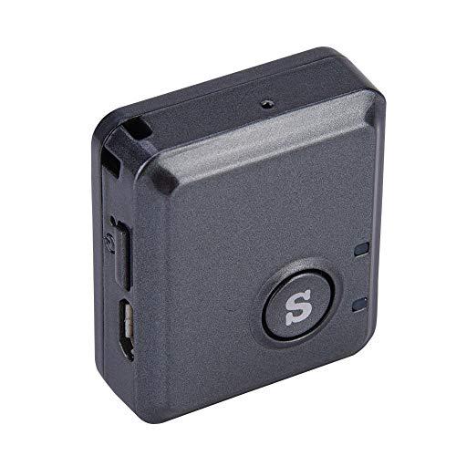 Oumij Mini Rastreador GPS de Tamaño Pequeño, Chip Mini Rastreador GPS Localizador RF-V8S 4 Niveles de Sensibilidad Dispositivo Rastreador GPS