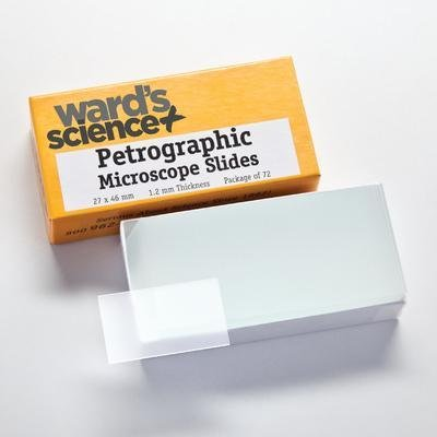 WRD-2746E - WARDâS Etched Petrographic Microscope Slides - Ward'sâ Etched Petrographic Microscope Slides - Case of 1440