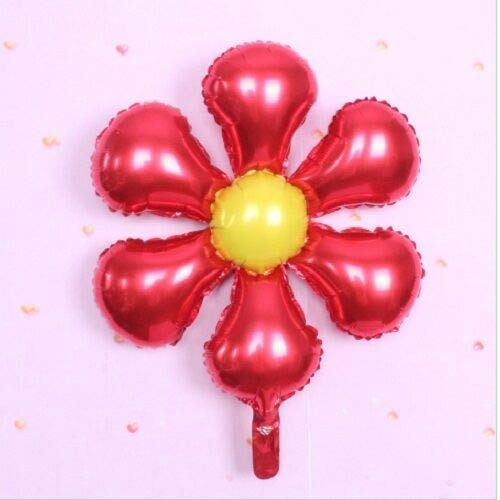 Purchase Cutdek 1-24 26 Flower Shape Foil Balloons Kids Birthday Oh Baby Shower Party Supplies (8, ...