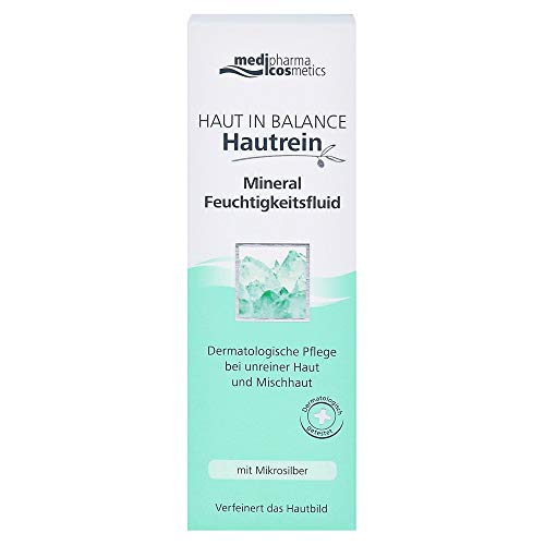 medipharma cosmetics Haut in Balance Hautrein Mineral Feuchtigkeitsfluid, 50 ml Lösung