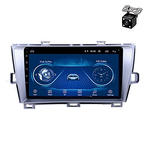 Android 8.1 Car Audio con 9 Pulgadas y 4 núcleos Reproductor Multimedia de DVD Radio Video Navegación estéreo para Toyota Prius 2009-2013 Conducción a la Derecha