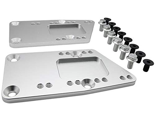 LS Engine Swap Motor Mount Adapter Plate Universal Swap Bracket Small Block LS Conversion Adjustable LS1 LS3 LS2 LQ4 LQ9 LS6 L92 L99 L33 LR4 Billet 551628 for SBC Vehicle to LS Engine