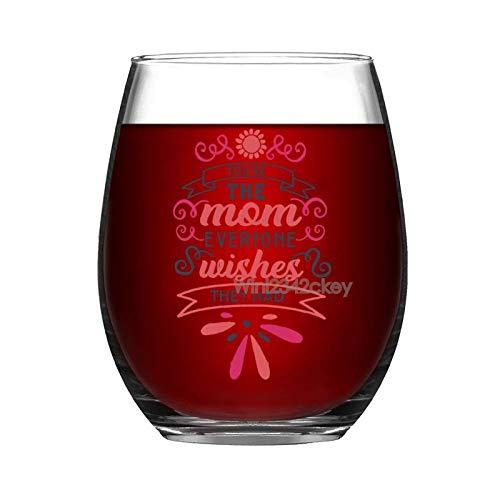 Copa de vino divertida, copas de vino sin tallo, vaso de vino, vasos de vino, copas de vino, copas de vino gigante, copas de vino blanco tinto, regalos para mamá mujeres