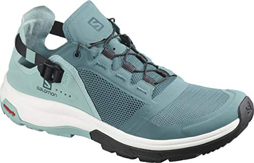 Salomon Tech Amphib 4 W, Walking Shoe Womens, Hydro./Nile Blue/Poseidon