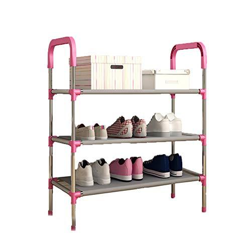 Multi-couche chaussure rack chaussures d'assemblage rack rangement dortoir économie simple chaussure rack,60 * 30 * 68