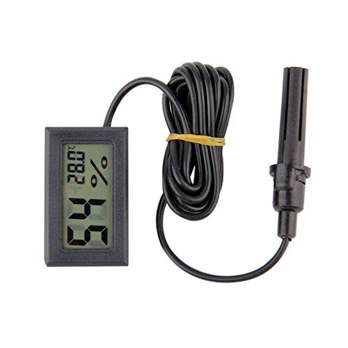 Uzinb Medidor Temperatura Mini Digital LCD Termómetro