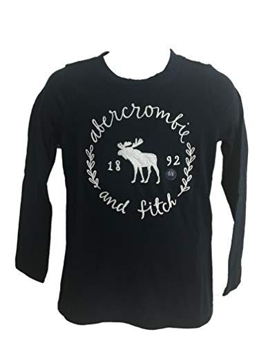 Abercrombie Kids Girl T-Shirt Manica Lunga (Blu Navy, X-Small 7/8/ Anni 122 135 cm)