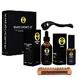 Best Beard Kits - Beard Growth Kit - Derma Roller for Beard Review