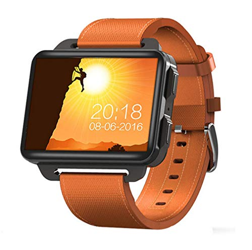 ELEGENCE-Z Smart Watch, Android, 2,2-inch 1200 mAh-Android horloge telefoon met GPS Bluetooth WiFi fitness tracker hartslagmeter stappenteller, muziek Smart Wearable apparaten