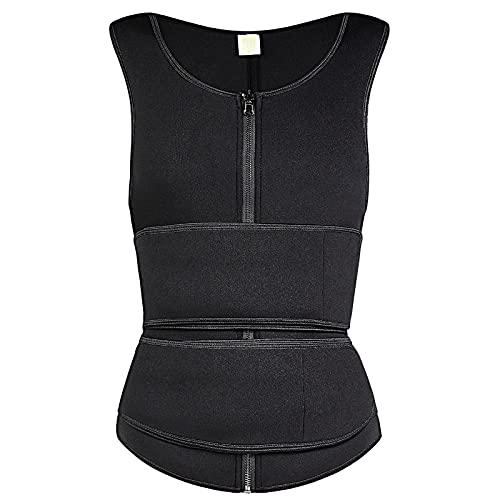 LIUJIU Tanga Body Shapewear para mujer, control de barriga, busto abierto, moldeador de cuerpo, negro, XL