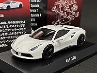 京商 1/64 フェラーリ 12 488 GTB 白 ホワイト