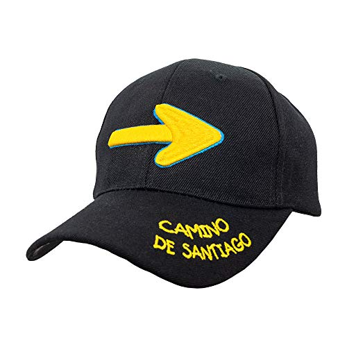 Finoly Gorra Flecha Peregrino Camino de Santiago Xacobeo Jacobeo