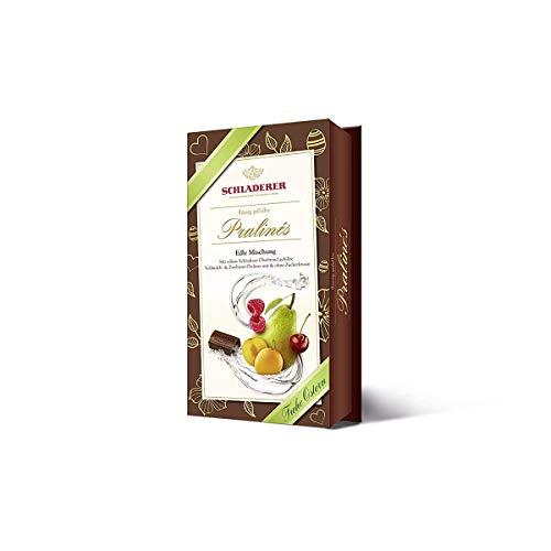 Schladerer gefüllte Obstbrand Schokoladen Pralines Edle Mischung 127g
