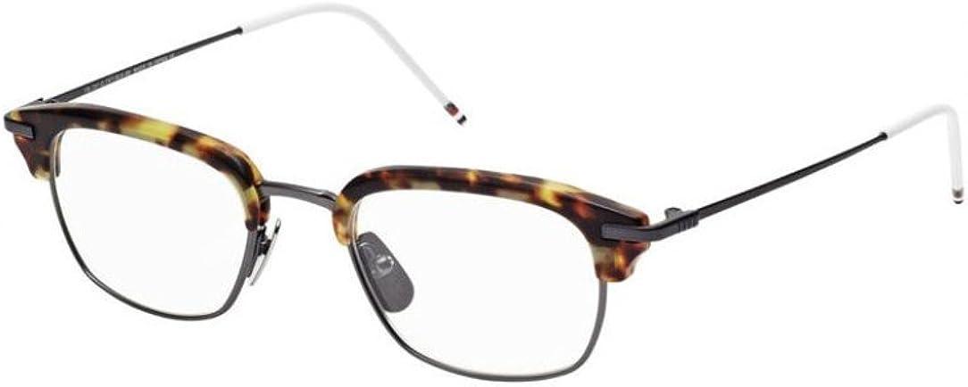 THOM BROWNE TB-707C Tortoise-Black Iron Eyeglasses