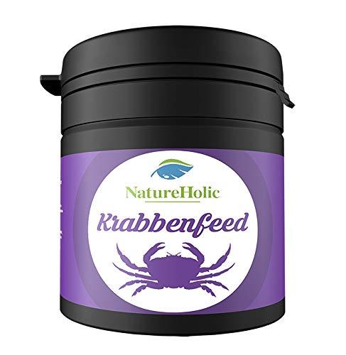 NatureHolic - Krabbenfeed Krabbenfutter – Futter für Krabben im Aquarium – 30 g