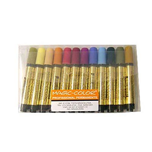 Estojo Magic Color 12 Cores Intermediária I 642