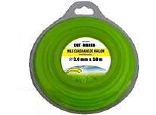 Ausavil2 R3015 - Hilo jard 3mm desbrozador gut mahen nyl rdo 15 mt r3015