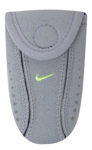 Nike Running Shoe Wallet (Wolf Grey/Volt, OSFM)