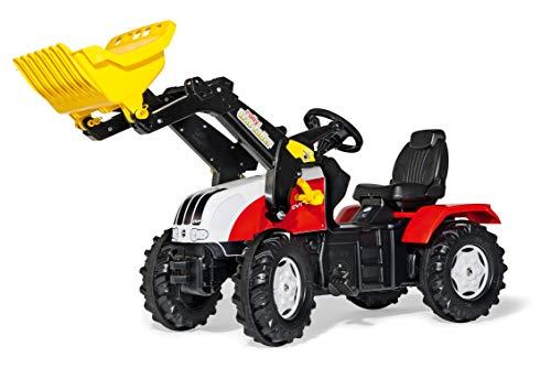 Rolly Toys 046317 - rollyFarmtrac Steyr CVT 6240 (für Kinder von 3 bis 8 Jahren, Sitz verstellbar, Flüsterlaufreifen)