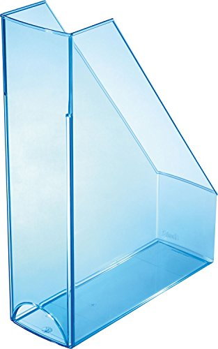 Helit Portariviste Col Trasparente Blu