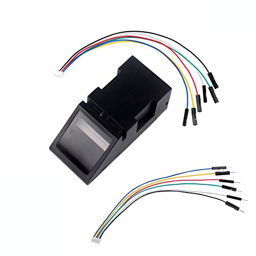 Optical Fingerprint Sensor Reader Scanner Module Door Lock Access Control Red Light for Arduino Mega2560 UNO R3 DIYmalls