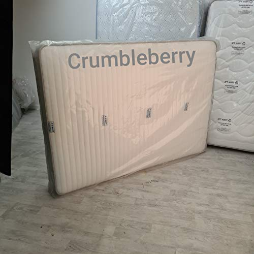 Crumbleberry - King Size 5ft Strong Plastic Mattress Bag, Removals, DIY, Dust Protection & Garden Furniture Storage Cover
