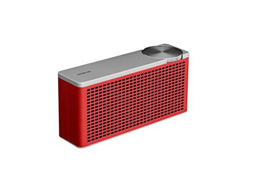 Geneva Touring XS Tragbarer Bluetooth Lautsprecher- Rot
