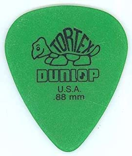 Jim Dunlop 418R Tortex Standard:Green (0.88mm) 12枚セット