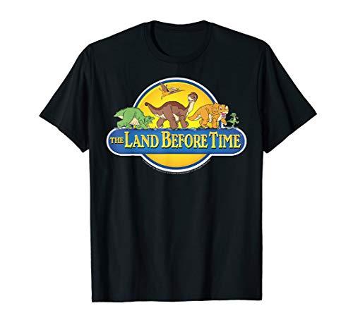 Land Before Time Retro Logo T-Shirt