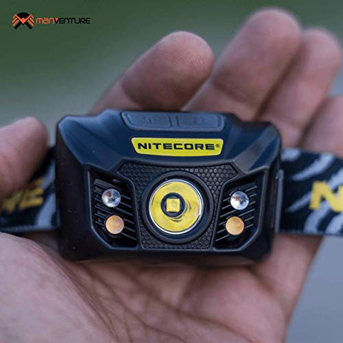 Nitecore NU32 Head Torch - USB Rechargeable - LED Super Bright 550 Lumens - Headlamp With Red Light IP67