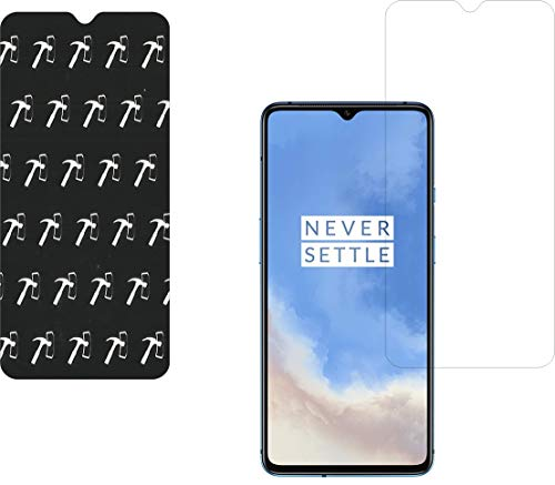 IndiForce Non-BREAKABLE 3 Layer, 5D Gorilla Glass Screen Guard for OnePlus 7T - Hammer-Tested Screen Protector, Not a Odinary Tempered Glass
