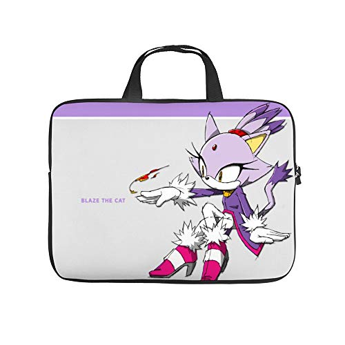 Universal Laptop Computer Tablet,Bag,Cover for,Apple/MacBook/HP/Acer/Asus/Dell/Lenovo/Samsung,Laptop Sleeve,Blaze The Cat 1,13inch/35x24x1.5cm