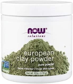Now Foods European Clay Powder - 6 oz. 4 Pack