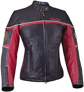 Indian Motorcycle New OEM Leather Freeway Jacket Women's Medium, 286371503