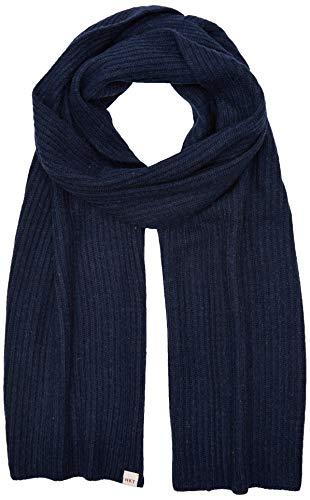 Hackett London Herren Schal HKT Knit Scarf, Blau (Dk Blu Marl 5em), One Size (Herstellergröße: 000)