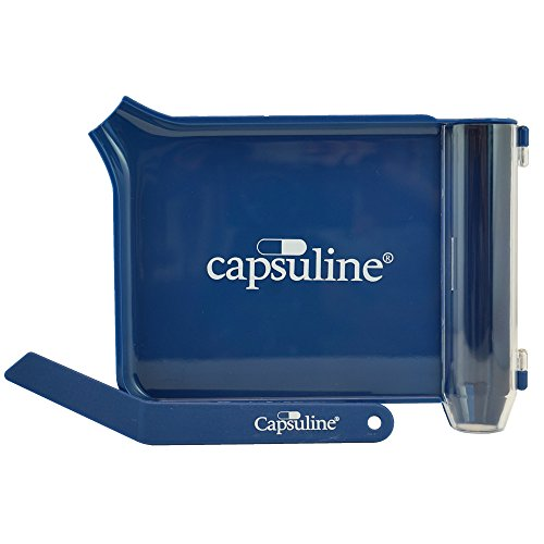Left-Hand Pill Counting Tray w/Spatula by Capsuline