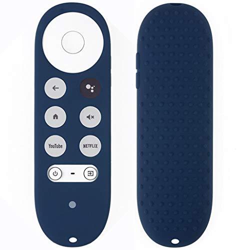 JIACUO Chromecast Siliconen hoes voor TV 2020, schokbestendig, met afstandsbediening voor Chromecast 2020
