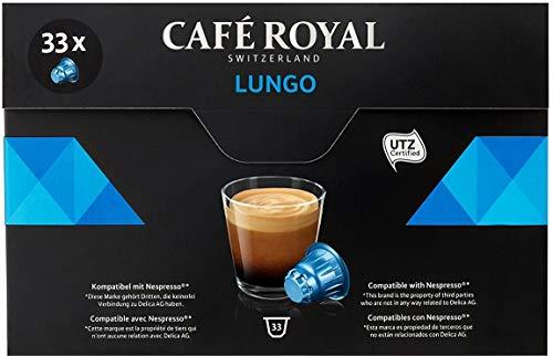 Café Royal Capsules de café Lungo - La boîte de 33, 174g