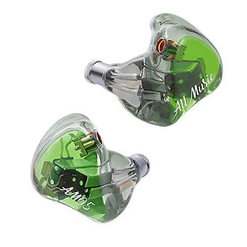 iBasso AM05 - Auriculares High End con 5 driver BA de Knowles (Color verde)