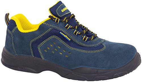 Goodyear G138843C Botas (piel serraje), Azul, 42, Set de 2 Piezas