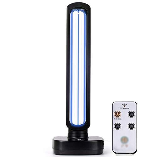 ZHDD UV-Entkeimungslampe,Decken bis zu 400 Quadratfuß, 220 V 65 W tragbare Ozondesinfektionslampe Luftreiniger UVC-Licht-Timer.