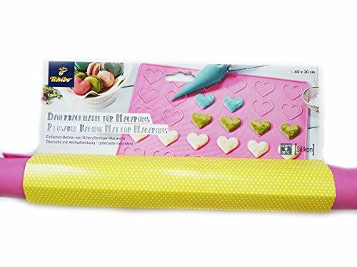Tchibo TCM Silikon Backmatte Dauerbackmatte für 15 Macarons Backform