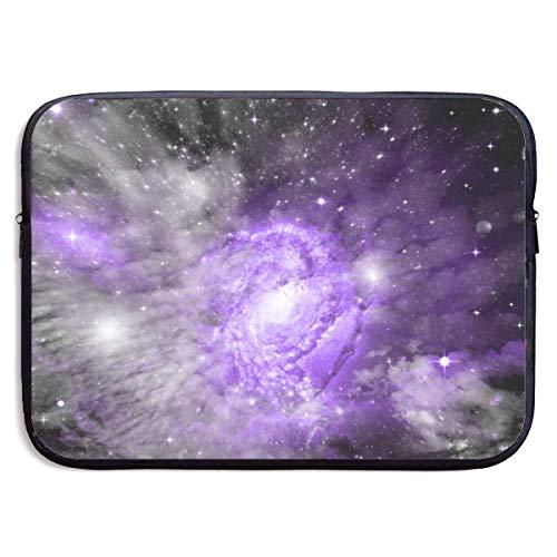 Zome Lag Laptop aktetas, laptop beschermtas, laptoptas, laptoptas, draagbaar laptoptas, laptoptas, mooie paarse sterrenhemel laptop-mouwtas, computer notebook-case tassen S(13 Inch) 818