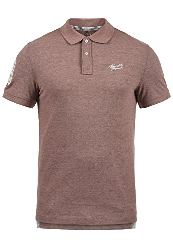 Blend Ludger Herren Poloshirt Polohemd T-Shirt Shirt Mit Polokragen, Größe:M, Farbe:Rose Red (73837)