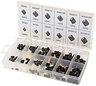 Iycorish 550 piezas Kit de surtido tornillos autorroscantes de metal chapa metrica