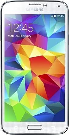 Samsung G900F GALAXY S5 16 GB - Unlocked (Shimmery White) (Certified Refurbished)