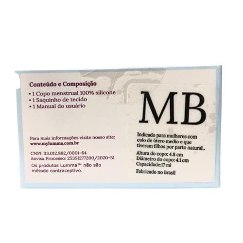 Lumma Easy Cup Coletor Menstrual cml Colo Medio Longo