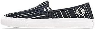 Turner Slip-On Retro Strip Navy Shoe Men 10.5 US