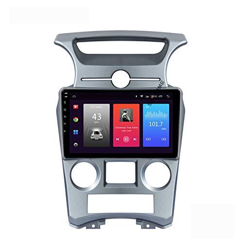 LYHY Android 10.0 Car Stereo Unidad Principal de Doble DIN Compatible con KIA CARENS 2007-2011 Navegación GPS Reproductor Multimedia MP5 de 9 Pulgadas Receptor de Video y Radio con 4G DSP Carplay