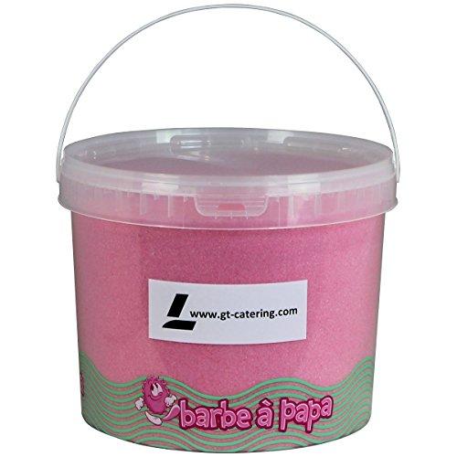 Zuckerwatte Zucker für Zuckerwatte-Maschine - Erdbeer- 5 Kg